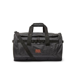 Tarp Barrel Bag 60L -  Black & Orange