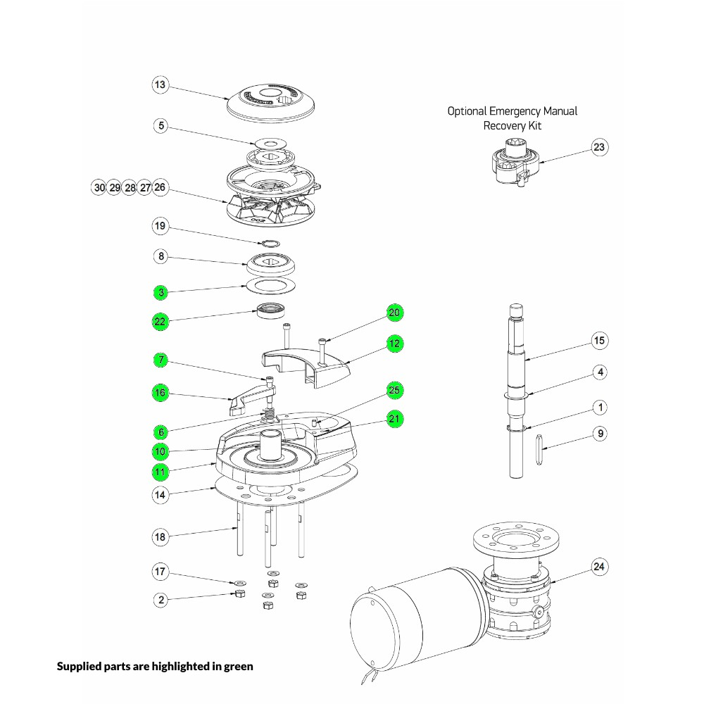 CPX Windlass Base Kit