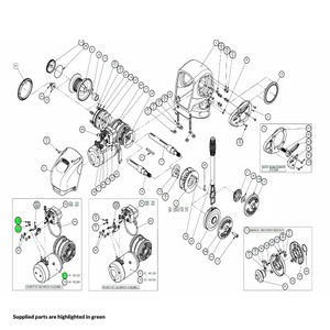 H2 Windlass Motor-Gearbox Assembly 12V