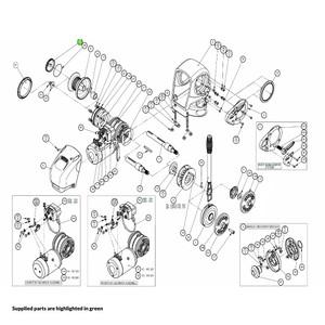 H2-H3 Windlass Drum Cap