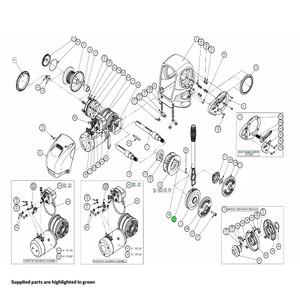 H2-H3 Windlass Manual Recovery Operating Handle