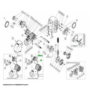 H2-H3 Windlass Contactor Kit 24V