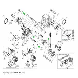 H2-H3 Windlass Drive Key Kit