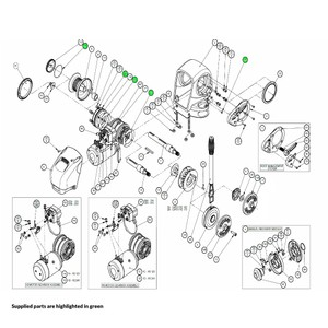 H2-H3 Windlass Seal Kit