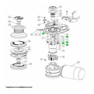 V Series Windlass Mounting Kit - Metric
