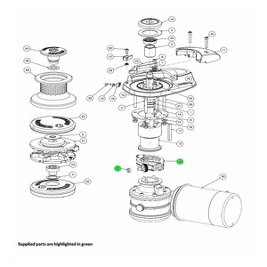 V Series Windlass Fast Fit Assembly