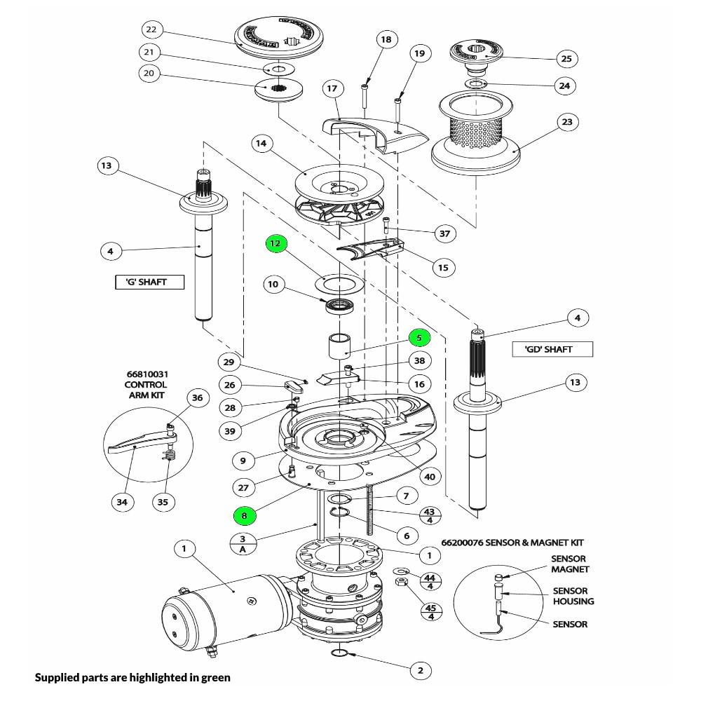 V4-V5 Windlass Bearing-Seal