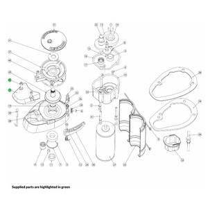 V700 Windlass Chain Pipe Cover