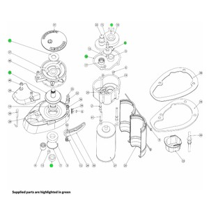 V700 Windlass Driveshaft Kit