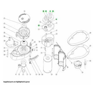V700 Windlass Gear Set