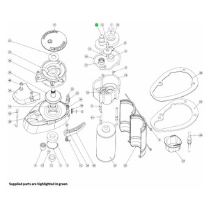 V700 Windlass Compound Gear Assembly