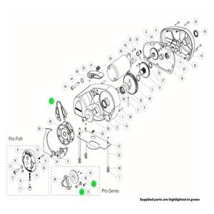 Pro-Series Windlass Stripper Arm Kit