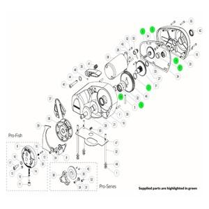 Pro-Series Windlass Bearing Kit