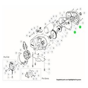 Pro-Series Windlass Gasket Kit