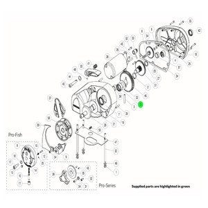 Pro-Series Windlass Compound Gear Kit