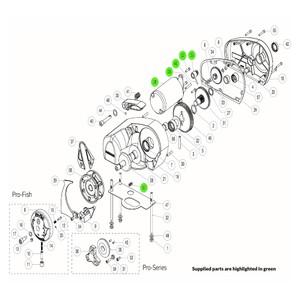 Pro-Series Windlass 12V Motor Kit