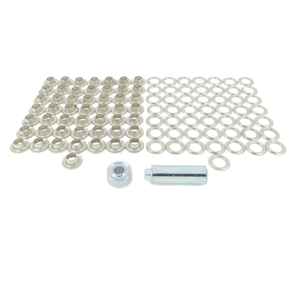 Nickel Plated Brass Eyelet Kit