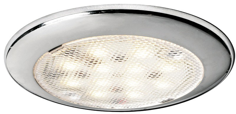 Stainless Steel Flush Mount LED Ceiling Light
