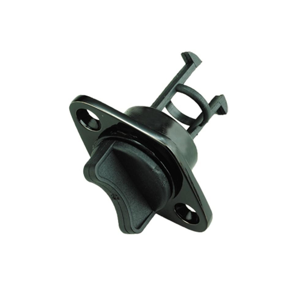 Plastic Drain Plug - Black