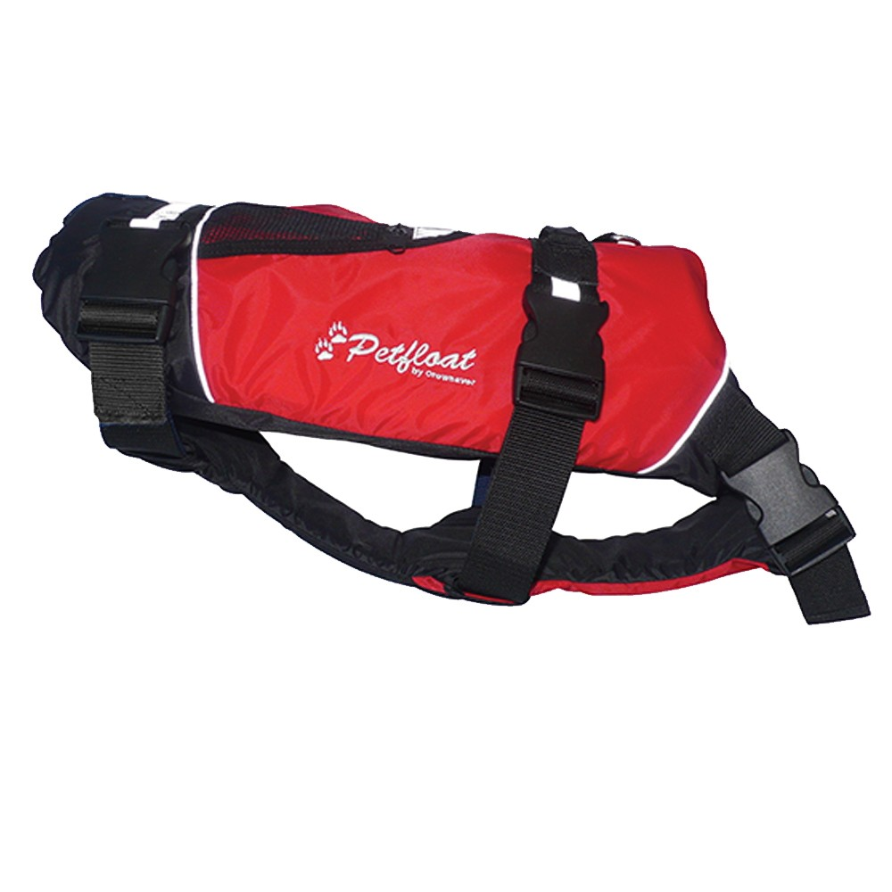 Petfloat Life Jacket for Dogs Red/Black