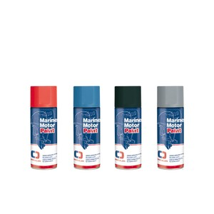 Silver 400ml Acrylic Spray Paint for Volvo Penta Engines