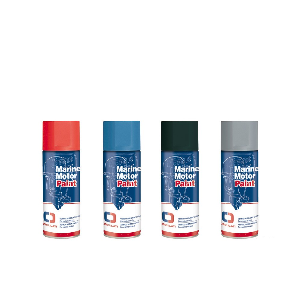 Blue 400ml Acrylic Spray Paint for Evinrude Engines
