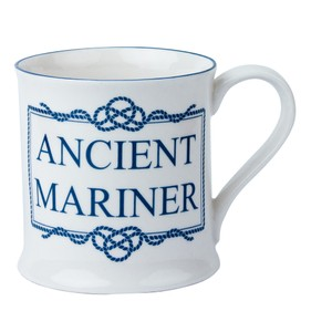 Porcelain Mug - Ancient Mariner