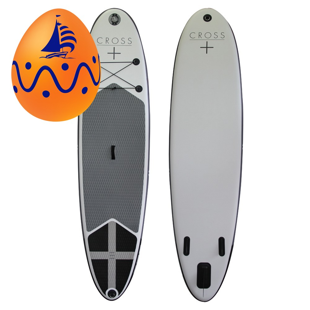 """Cross 10'7"""" Inflatable Stand Up Paddle Board SUP"""