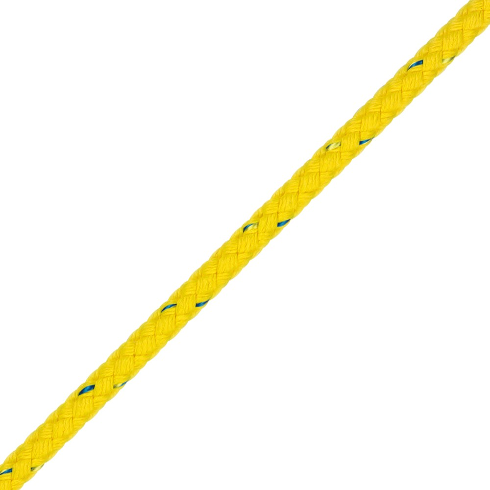 Floating 8 Plait Rope - Yellow