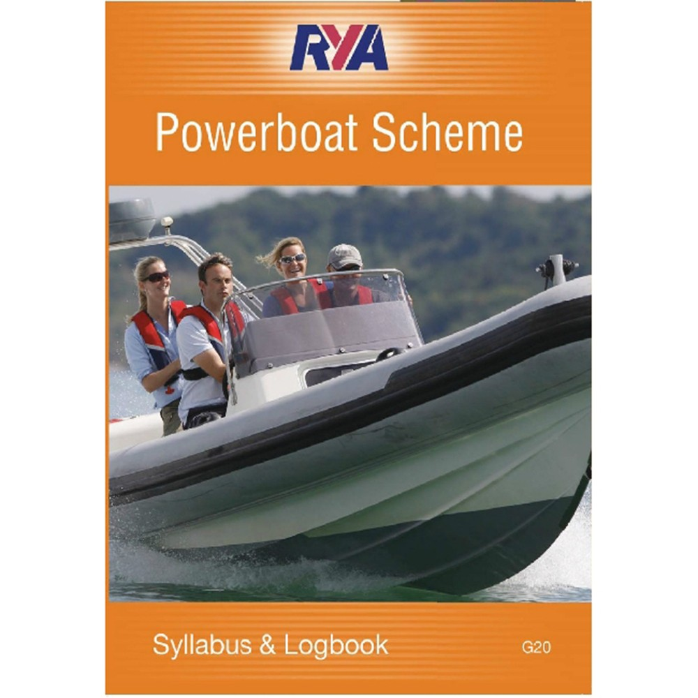 Powerboat Scheme Syllabus & Logbook (G20)