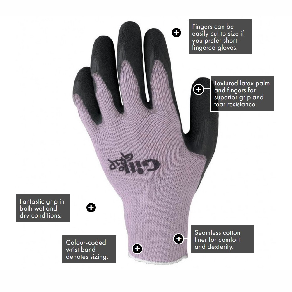 Grip sailing Gloves - Purple