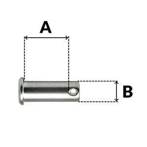 Stainless Steel Clevis Pin