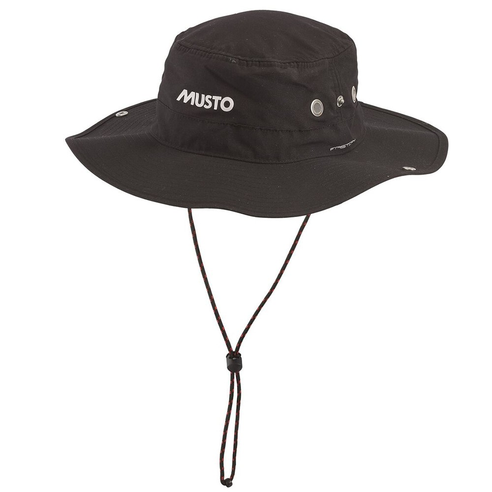 Evolution Fast Dry Brimmed Hat - Black