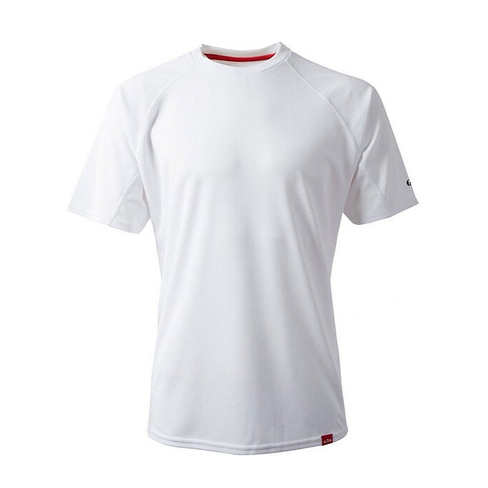 Men's UV Tec Crew Neck T-Shirt - White