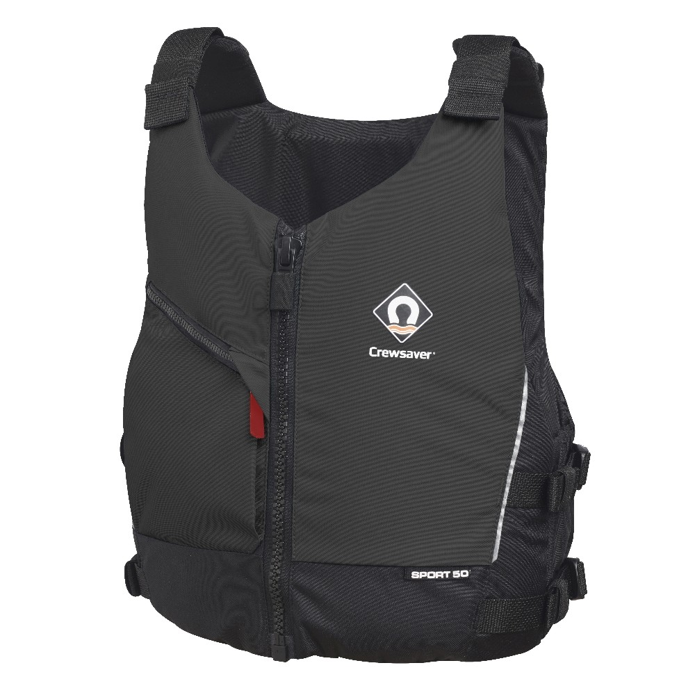 Sport 50 Buoyancy Aid - Black Red