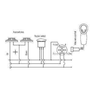 Remote Wheelhouse Windlass Switch