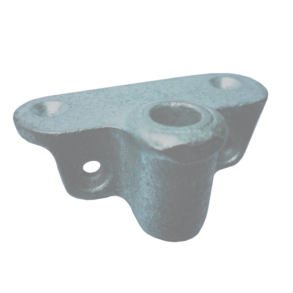 Side Mount Rowlock Socket - Galvanised