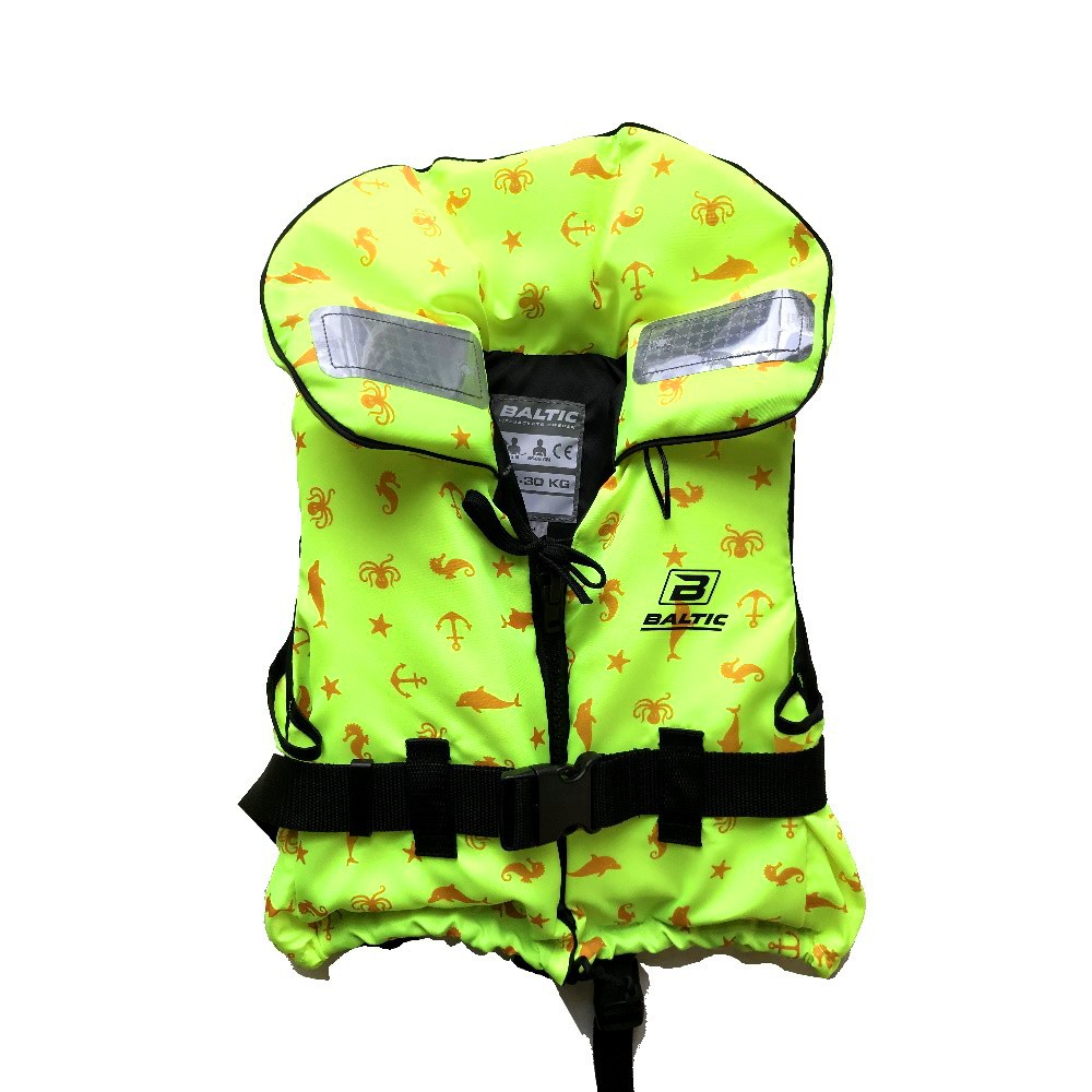 Child's 100N Lifejacket 15-30kgs Yellow