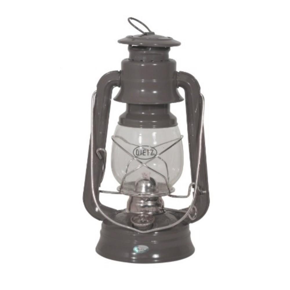 Hurricane Oil Lamp - Dreadnought Grey