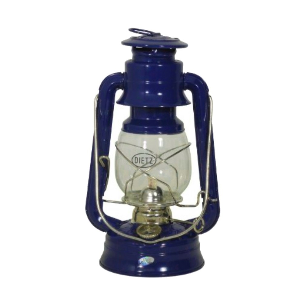 Hurricane Oil Lamp - Brittania Blue