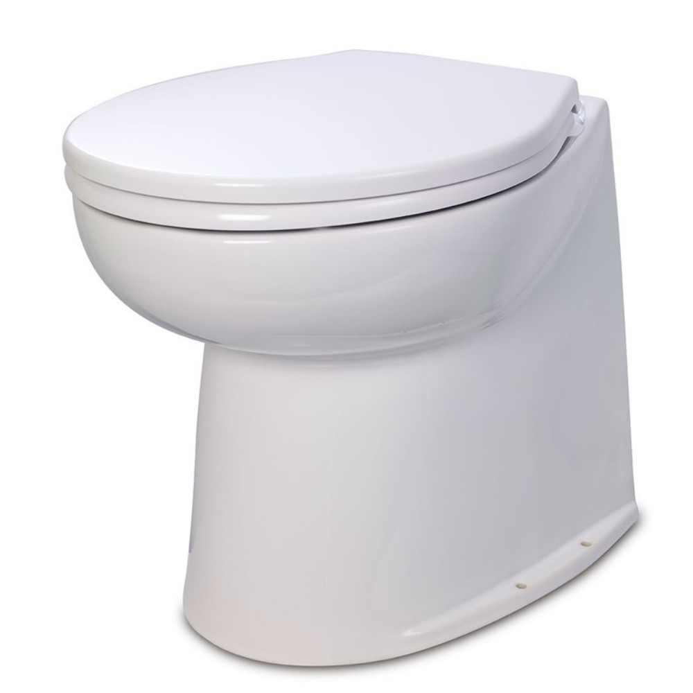 Deluxe Flush Electric Fresh Water Toilet 12V