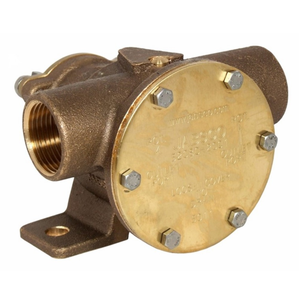 "1"" Bronze Pump Foot Mounted"