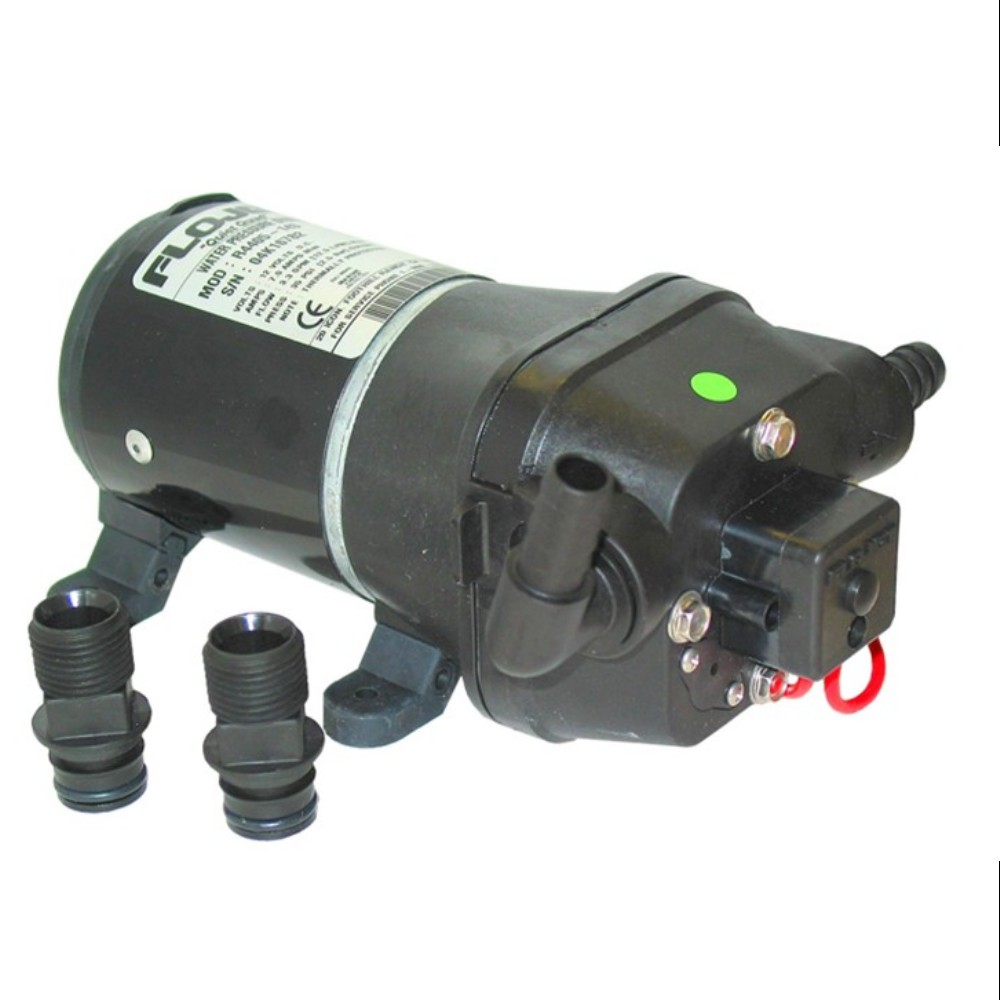 Pressure-controlled pump with internal bypass
