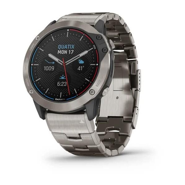 Quatix 6x Solar Marine GPS Smartwatch