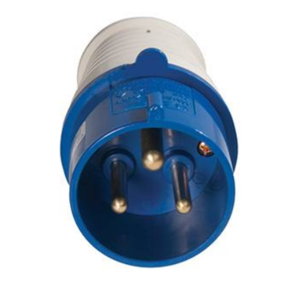 3 Pin Marina / Shore Power Plug 32 Amp