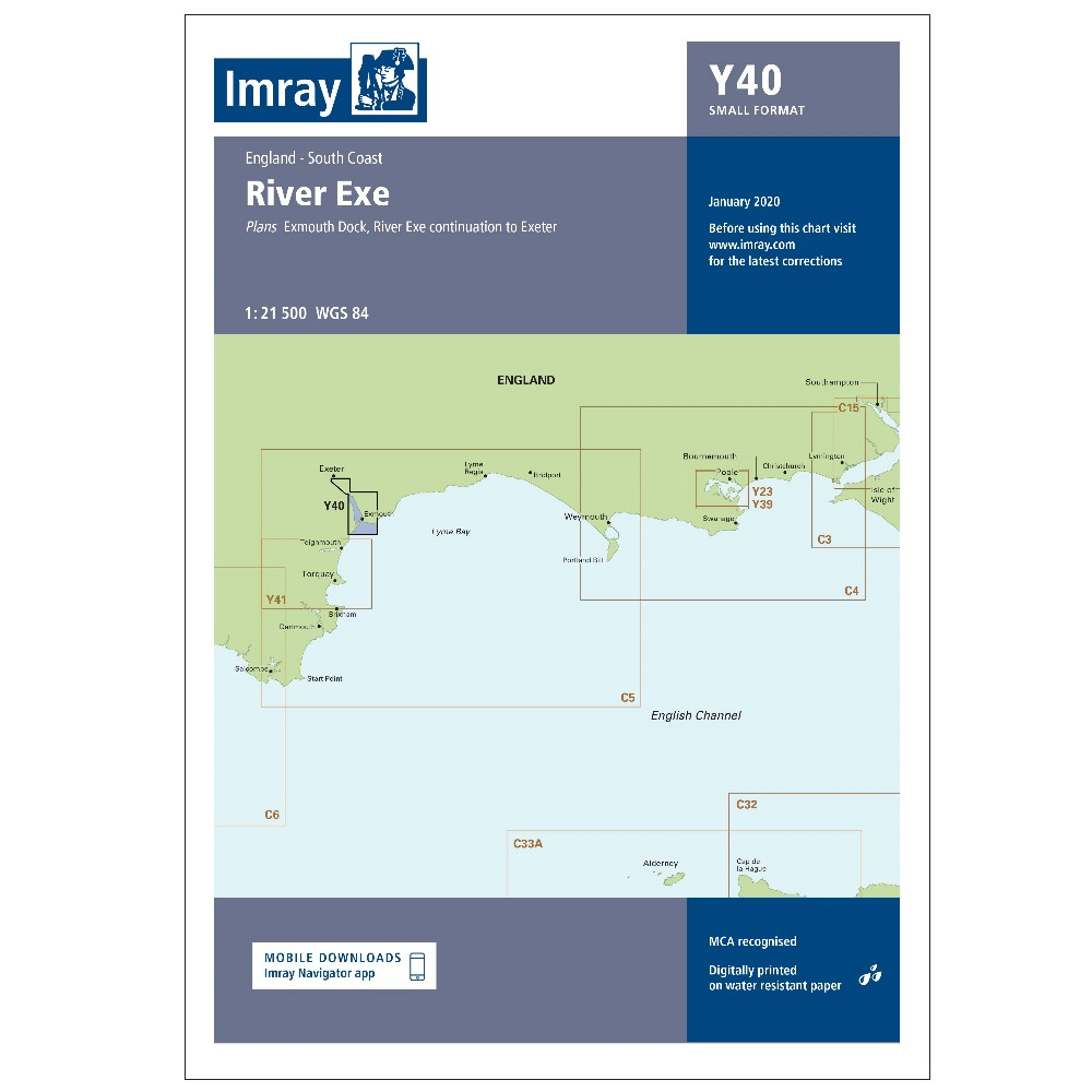 Y40 - River Exe Small Format (Replaces 2300.6)