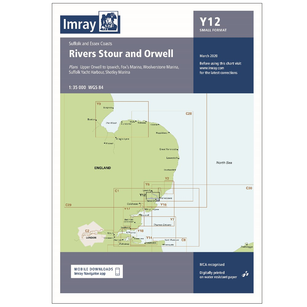 Y12 Rivers Stour and Orwell (Replaces 2000-5)