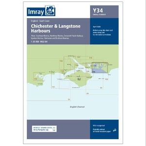 Y34 Chichester & Langstone Harbours Small Format (Replaces 2200-4)