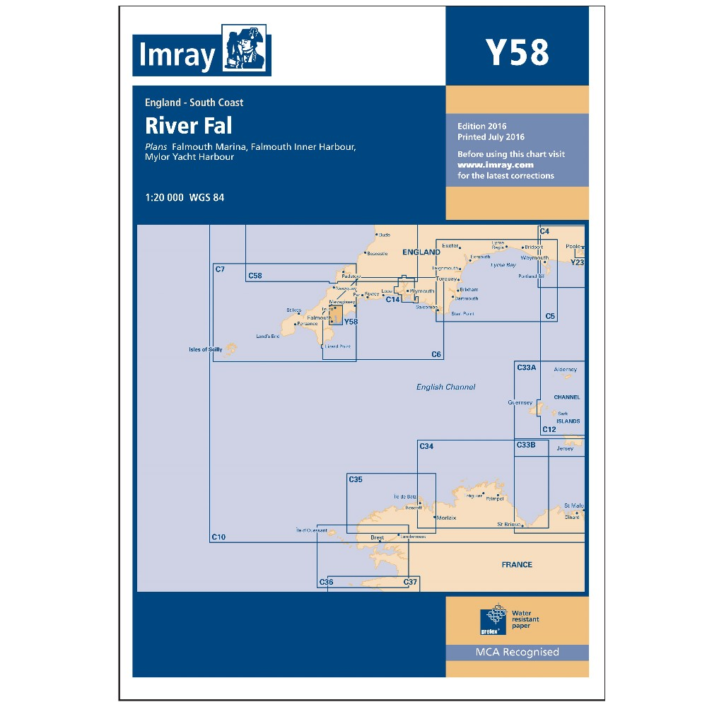 Y58 - River Fal - Falmouth to Truro