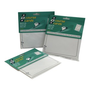 Self-Adhesive Race/Course Cards (15pk)